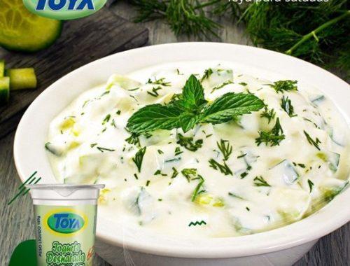 Molho de Iogurte Toya para sua salada