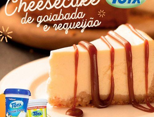 Cheesecake de Goiabada com Requeijão